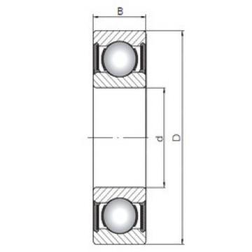 Bantalan 63316-2RS ISO