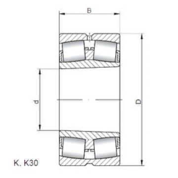 Bantalan 23934 KW33 ISO