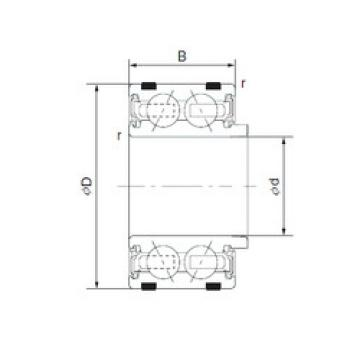 Bantalan EC-DF1160LUALACS40PX1/L325 NTN