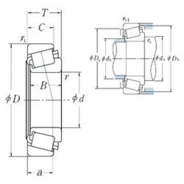 Bantalan M86648A/M86610 NSK