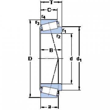 Bantalan 33115/Q SKF
