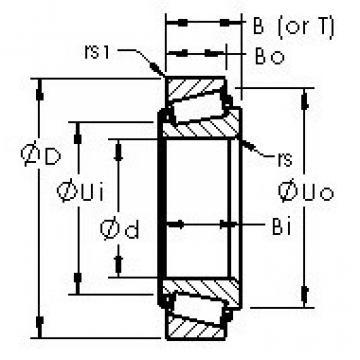 Bantalan M802048/M802011 AST