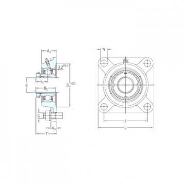 Bantalan FYJ 30 KF+H 2306 SKF
