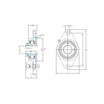 Bantalan FYTJ 30 KF+H 2306 SKF