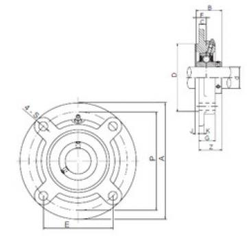 Bantalan UCFC213 ISO