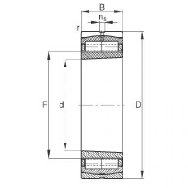 Bantalan F-800480.ZL-K-C5 FAG #1 image