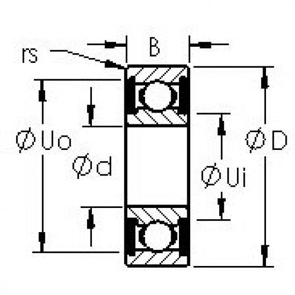 Bantalan 606H-2RS AST #1 image