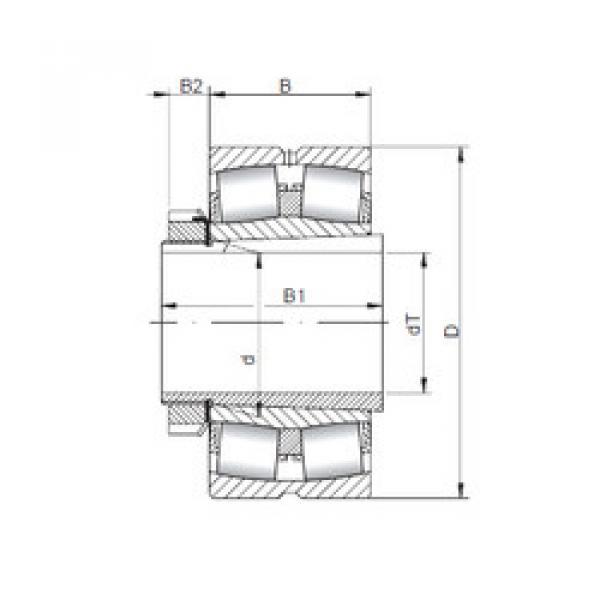 Bantalan 23944 KCW33+H3944 ISO #1 image