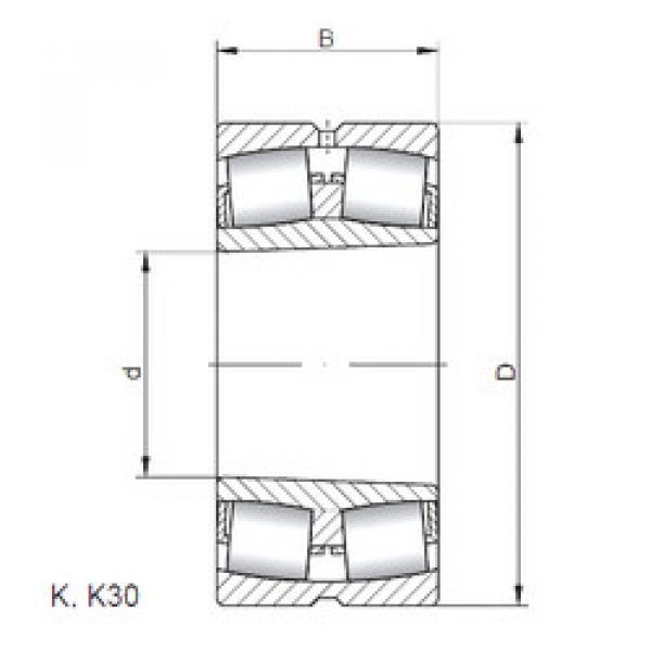Bantalan 23940 KCW33 CX #1 image