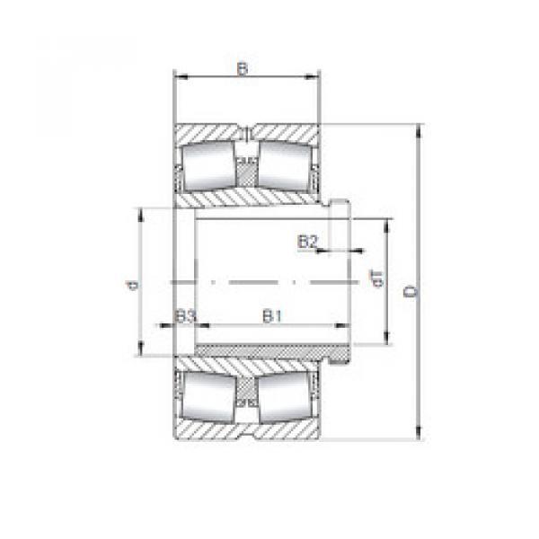 Bantalan 23940 KCW33+AH3940 ISO #1 image