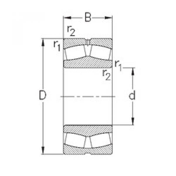 Bantalan 23952-MB-W33 NKE #1 image