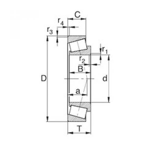 Bantalan M86647/M86610 KBC #1 image